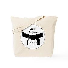 3rd Degree Black Belt Tote Bag