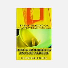 Diego Rodriguez Estate Coffee Espresso Magnet