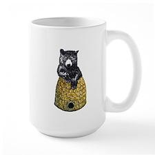 Bear with Hive Mug