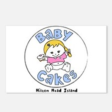 Cute Cakes Postcards (Package of 8)