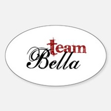 Team Bella Oval Decal
