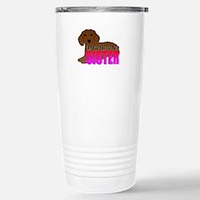 Dachshund Sister Travel Mug