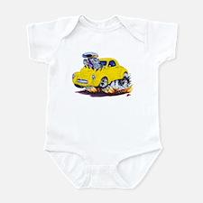 1941 Willys Yellow Car Infant Bodysuit