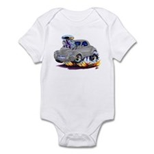 1941 Willys Grey Car Infant Bodysuit