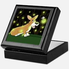 Firefly Corgi Keepsake Box