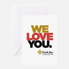 Loud and Clear Greeting Card