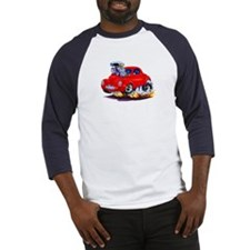 1941 Willys Red Car Baseball Jersey