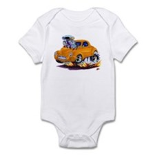 1941 Willys Orange Car Infant Bodysuit