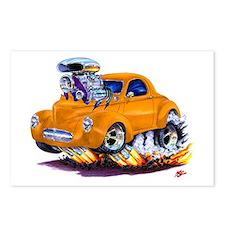 1941 Willys Orange Car Postcards (Package of 8)
