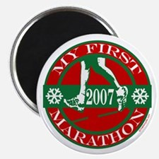 My First Marathon - 2007 Magnet