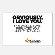 Obviously Postcards (Package of 8)