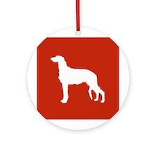 Scottish Deerhound Ornament (Round)