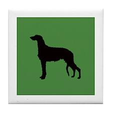 Scottish Deerhound Tile Coaster