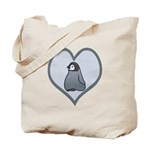 Emperor Penguin Baby Chick Tote Bag