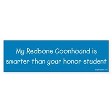 Redbone Coonhound / Honor Student