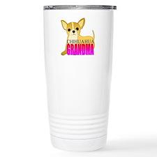 Chihuahua Grandma Travel Mug