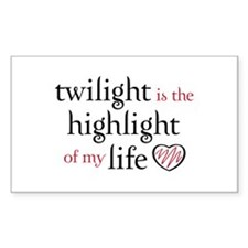 """Twilight is the Highlight"" Decal"