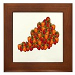 Vegetable Framed Tile