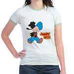 Snuffy Smith Walking Jr. Ringer T-Shirt