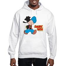 Snuffy Smith Walking Hooded Sweatshirt