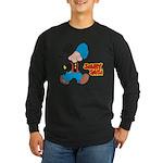 Snuffy Smith Walking Long Sleeve Dark T-Shirt