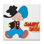 Snuffy Smith Walking Tile Coaster