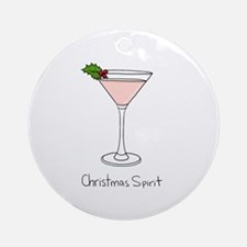 Christmas Spirit - Ornament (Round)