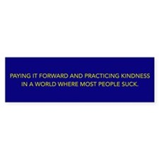 Practice Kindness Bumper Bumper Sticker