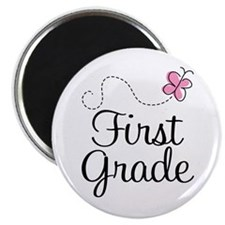 Special 1st Grade Butterfly Magnet