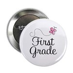 "Special 1st Grade Butterfly 2.25"" Button (10 pack)"