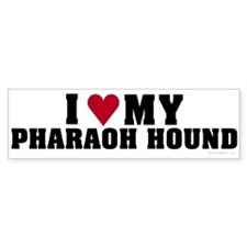I Love My Pharaoh Hound