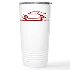 2008-10 Challenger Maroon Car Thermos Mug