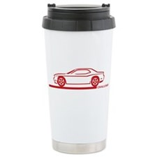 2008-10 Challenger Maroon Car Travel Mug