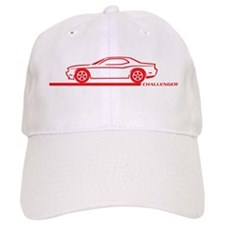 2008-10 Challenger Red Car Baseball Cap