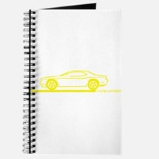 2008-10 Challenger Yellow Car Journal
