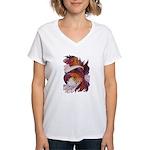 Spirit of Rhythm Women's V-Neck T-Shirt