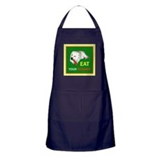 Eat Your Veggies Apron (dark)