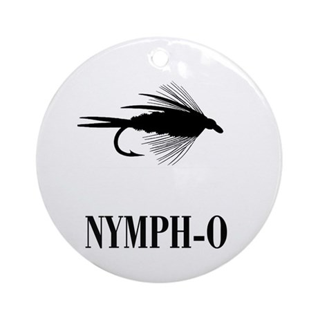 NYMPH-O - Ornament (Round)