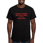 plastic surgeon joke Men's Fitted T-Shirt (dark)
