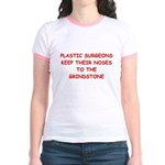 plastic surgeon joke Jr. Ringer T-Shirt