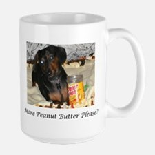 More Peanut Butter Large Mug