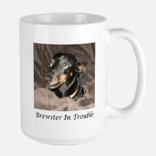Brewster In Trouble Large Mug