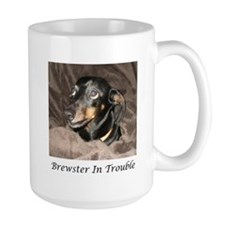 Brewster In Trouble Mug