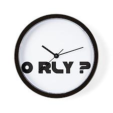O RLY Wall Clock