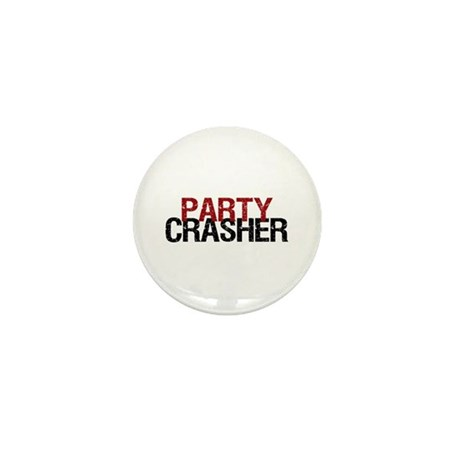 Party Crasher Mini Button (100 pack)