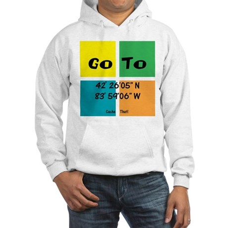 Geocaching GOTO Hooded Sweatshirt