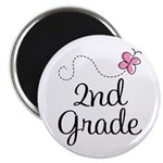 Darling 2nd Grade Magnet