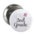 "Darling 2nd Grade 2.25"" Button (10 pack)"