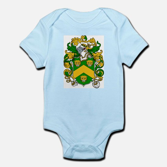 Fitch Coat of Arms Infant Creeper
