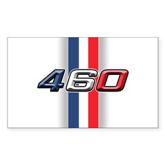 460RWB Rectangle Sticker 10 pk)